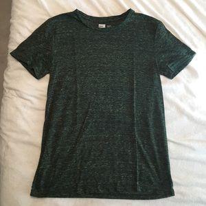 Green Slim Fit Tee - M